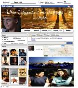 Facebook Timeline Ponyboy Curtis of The Outsiders by S.E. Hinton